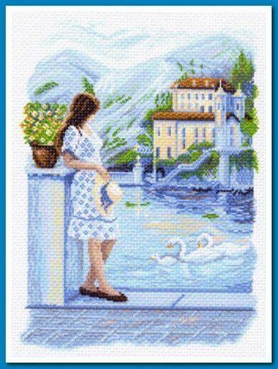 1517) рисунок на канве купить