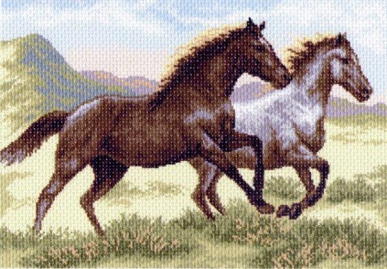"""Бегущие кони"" (арт. 1223)"