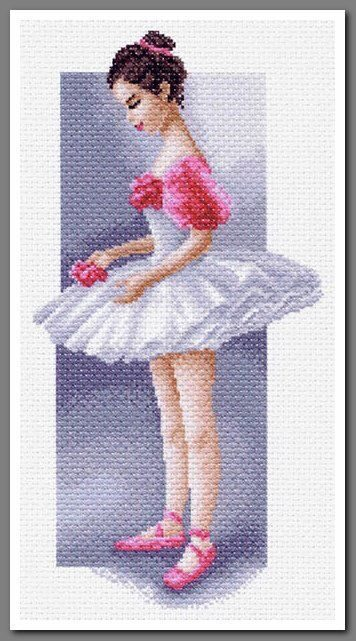 1473) вышивка балет