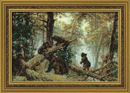 """""""Утро в сосновом лесу"""" (арт."""