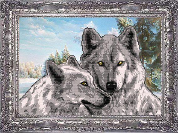 VKA3020) пара волков по фэн-